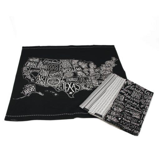 Metropolis Towels, Set of 4