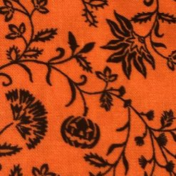Spooky Night, Studio E, Orange Leaves and Vines