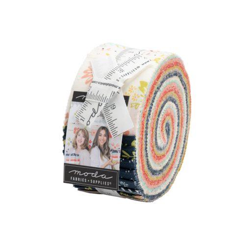 Happy Days Jelly Roll, Moda Fabrics