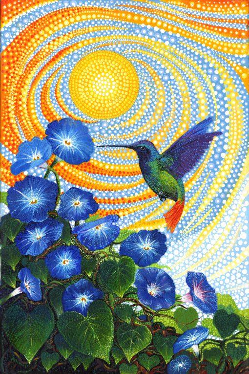 Ira Kennedy, Dreamscapes Panel, Morning Glo, MODA