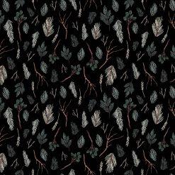 Winter Frost, Figo, Twigs, Black