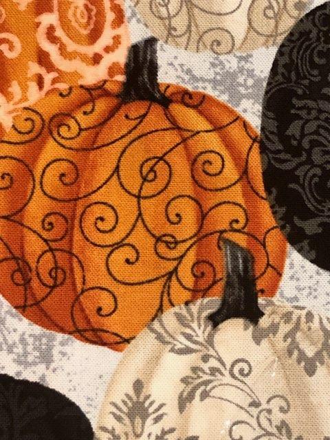 Spooky Nights, Damask Pumpkins