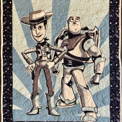 Toy Story, Woody & Buzz Lightyear, Toddler Quilt