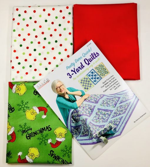Grinchmas, Pretty Darned Quick Quilt Kit
