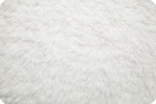 Shannon Luxe Minky, Llama, White