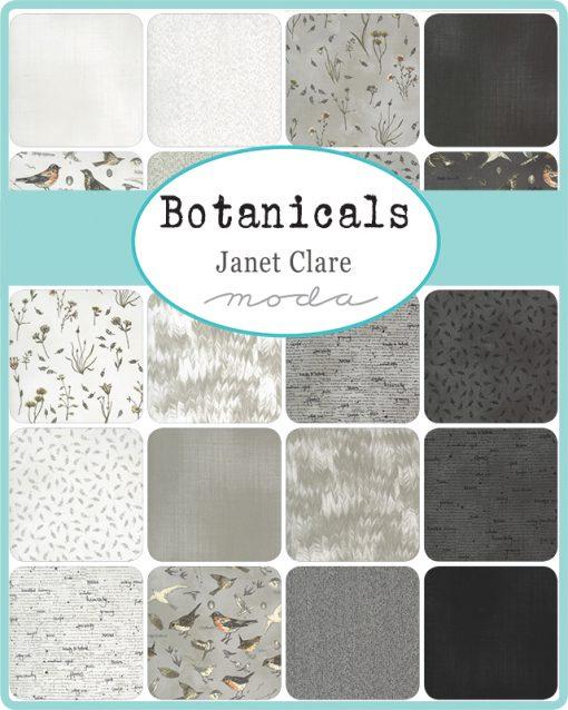 Sample Botanicals Jelly Roll Fabrics