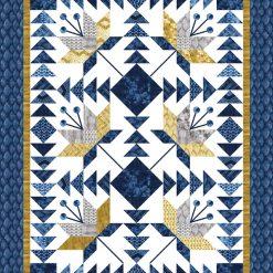Tochi Quilt Kit, Moda Fabrics, Designed by Debbie Maddy