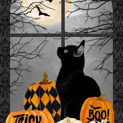 Black Cat Capers, Black Cat Panel