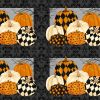 Black Cat Capers, Placemats, Northcott Halloween Fabrics
