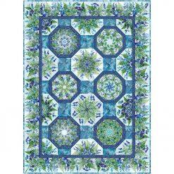 Haven One Fabric Kaleidoscope Quilt