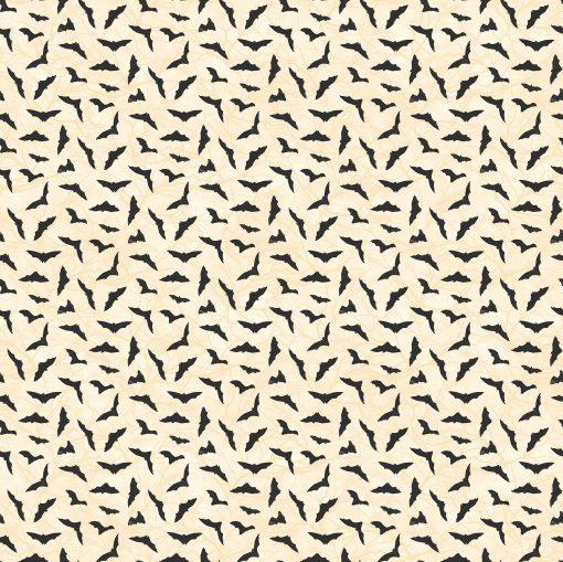 Black Cat Capers, Bats, Northcott Fabrics