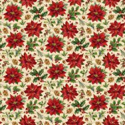 Old Time Christmas Poinsettias