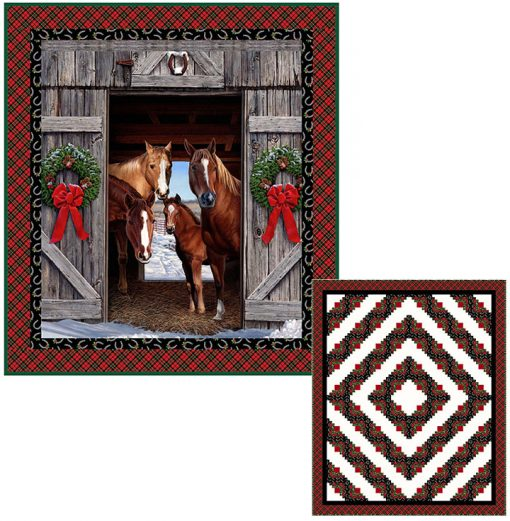 Hay It's Christmas Holiday Traditions Quilt Kit