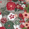 Hustle and Bustle Moda Yardage, Christmas Fabric