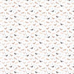 Wild West Chickens, Figo Fabrics