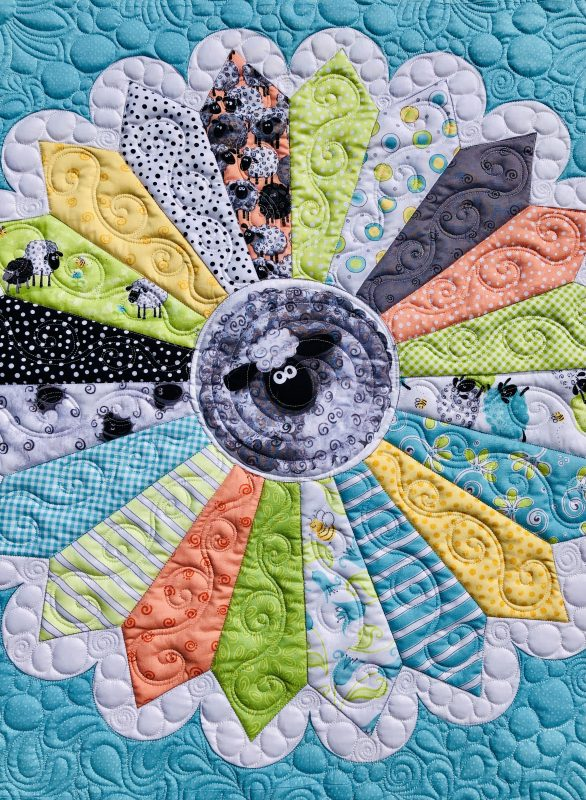 Lal the Lamb Quilted Dresden
