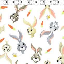 Harold the Hare, Hares and Carrots, World of Susybee, Clothworks